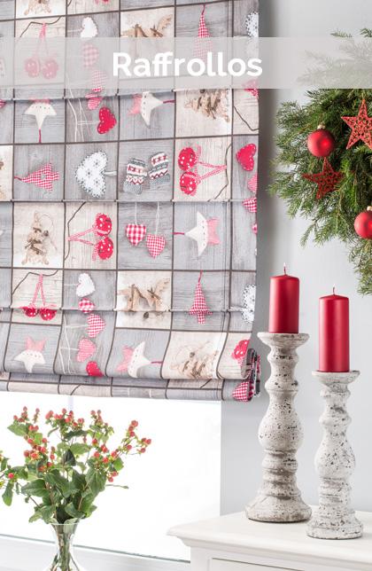 raffrollo weihnachten icnib. Black Bedroom Furniture Sets. Home Design Ideas